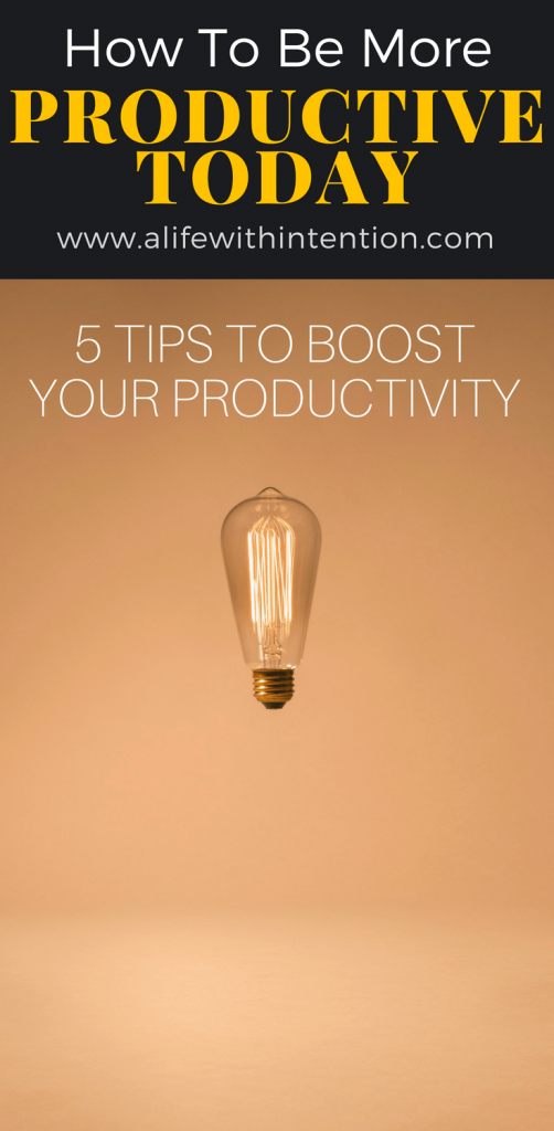 We have compiled 5 powerful tips to help boost your productivity based on research from leading thinkers in this area. | how to be more productive | how to be more productive at home | how to be more productive life | how to be more productive time management | how to be more productive tips | how to be more productive articles | #howtobemoreproductivetips #howtobemoreproductivelife
